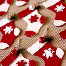 Diy Christmas Stockings 46 214x214 - Perfect DIY Christmas Stockings Ideas