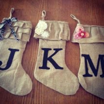 Diy Christmas Stockings 5 214x214 - Perfect DIY Christmas Stockings Ideas