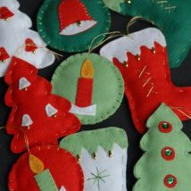Diy Christmas Stockings 50 214x214 - Perfect DIY Christmas Stockings Ideas