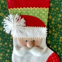 Diy Christmas Stockings 51 214x214 - Perfect DIY Christmas Stockings Ideas