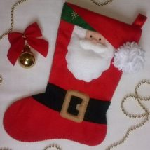 Diy Christmas Stockings 52 214x214 - Perfect DIY Christmas Stockings Ideas