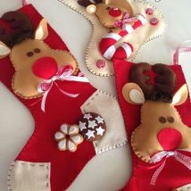 Diy Christmas Stockings 53 214x214 - Perfect DIY Christmas Stockings Ideas