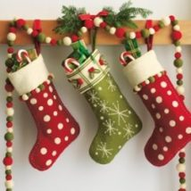 Diy Christmas Stockings 54 214x214 - Perfect DIY Christmas Stockings Ideas