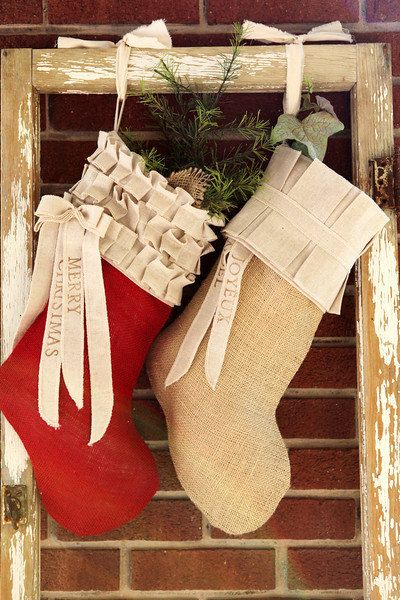 Diy Christmas Stockings 56 - Perfect DIY Christmas Stockings Ideas