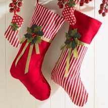 Diy Christmas Stockings 61 214x214 - Perfect DIY Christmas Stockings Ideas
