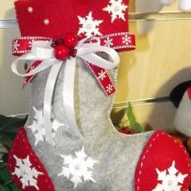 Diy Christmas Stockings 64 214x214 - Perfect DIY Christmas Stockings Ideas