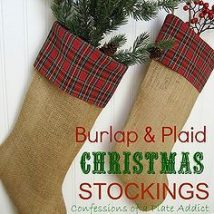 Diy Christmas Stockings 8 214x214 - Perfect DIY Christmas Stockings Ideas