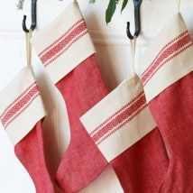 Diy Christmas Stockings 9 214x214 - Perfect DIY Christmas Stockings Ideas
