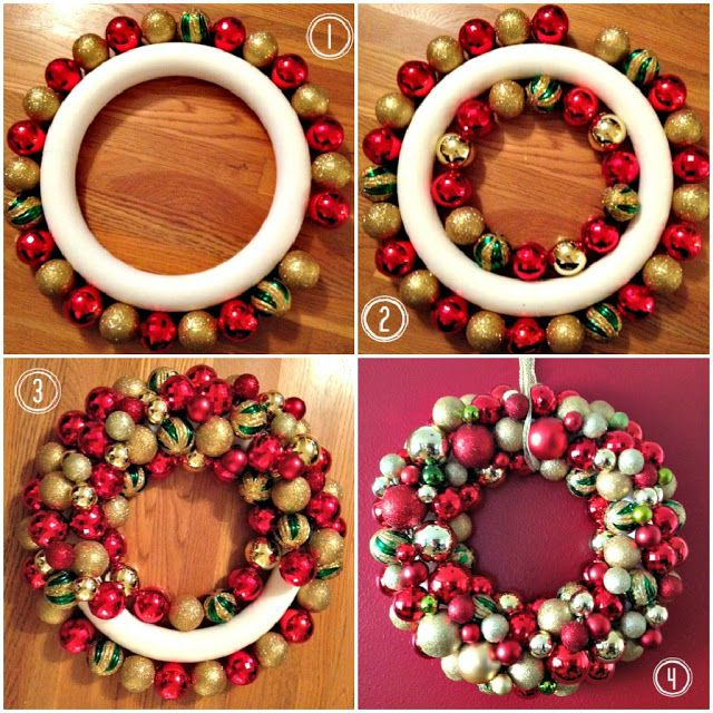 Diy Christmas Wreaths 1 - 39+ Of The Best DIY Christmas Wreath Ideas