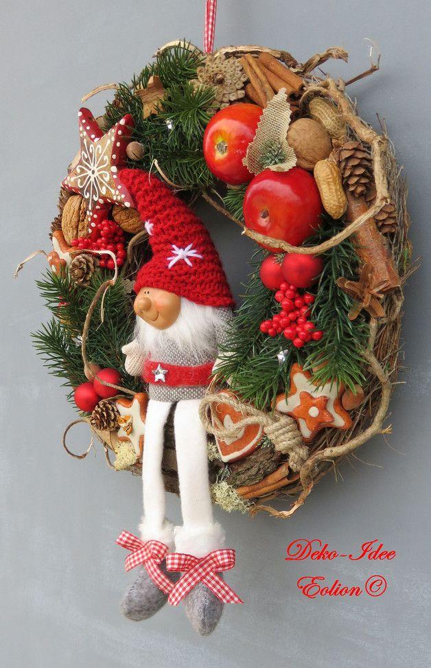 Diy Christmas Wreaths 17 - 39+ Of The Best DIY Christmas Wreath Ideas