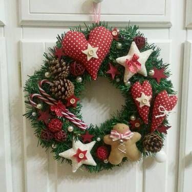 Diy Christmas Wreaths 18 - 39+ Of The Best DIY Christmas Wreath Ideas