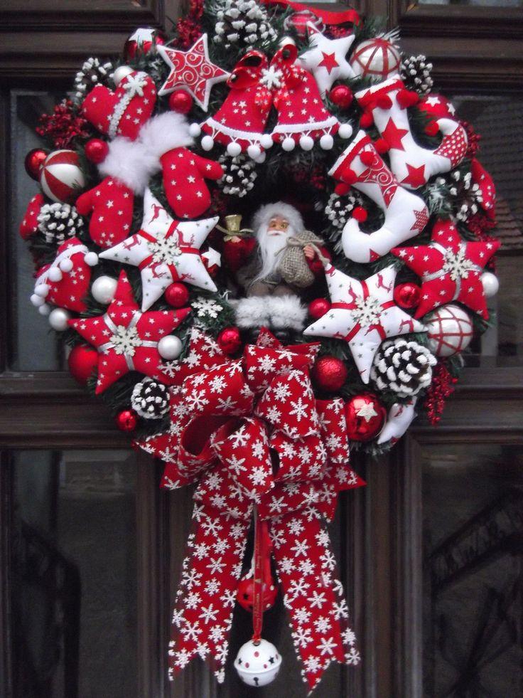 Diy Christmas Wreaths 20 - 39+ Of The Best DIY Christmas Wreath Ideas