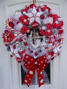 Diy Christmas Wreaths 21 - 39+ Of The Best DIY Christmas Wreath Ideas