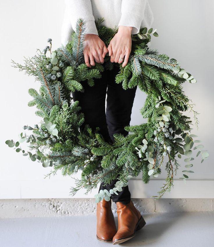 Diy Christmas Wreaths 26 - 39+ Of The Best DIY Christmas Wreath Ideas
