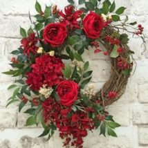 Diy Christmas Wreaths 27 214x214 - 39+ Of The Best DIY Christmas Wreath Ideas