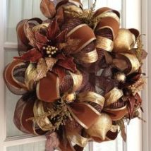Diy Christmas Wreaths 3 214x214 - 39+ Of The Best DIY Christmas Wreath Ideas