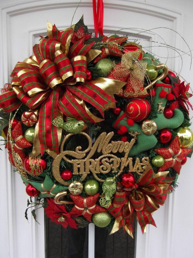 Diy Christmas Wreaths 35 - 39+ Of The Best DIY Christmas Wreath Ideas