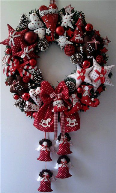 Diy Christmas Wreaths 37 - 39+ Of The Best DIY Christmas Wreath Ideas