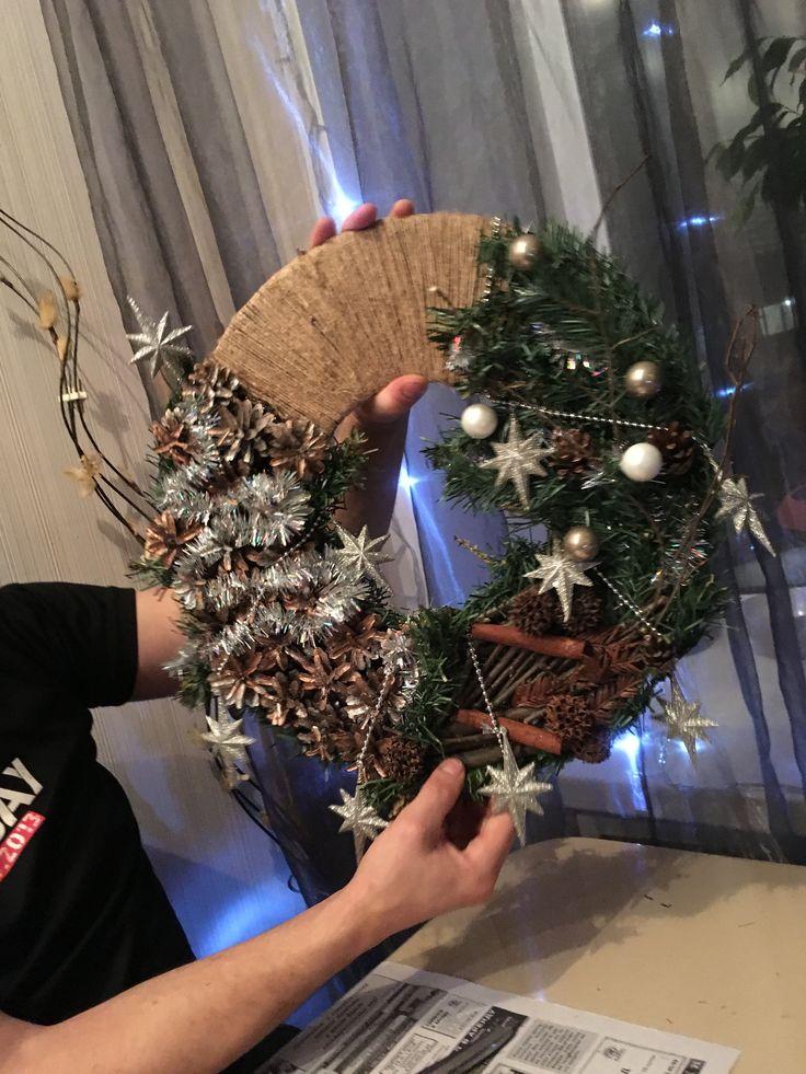 Diy Christmas Wreaths 8 - 39+ Of The Best DIY Christmas Wreath Ideas