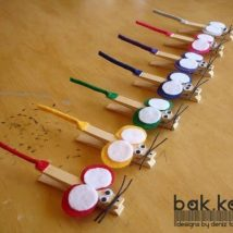 Diy Clothspin Projects 16 214x214 - 45+ Crazy DIY Clothespin Projects for Reuse