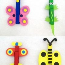 Diy Clothspin Projects 17 214x214 - 45+ Crazy DIY Clothespin Projects for Reuse