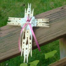 Diy Clothspin Projects 2 214x214 - 45+ Crazy DIY Clothespin Projects for Reuse