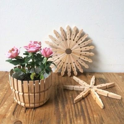 Diy Clothspin Projects 20 - 45+ Crazy DIY Clothespin Projects For Reuse