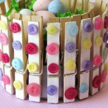 Diy Clothspin Projects 31 214x214 - 45+ Crazy DIY Clothespin Projects for Reuse