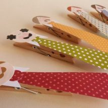 Diy Clothspin Projects 33 214x214 - 45+ Crazy DIY Clothespin Projects for Reuse