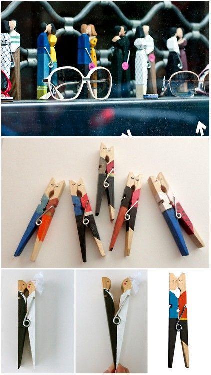 Diy Clothspin Projects 34 - 45+ Crazy DIY Clothespin Projects For Reuse