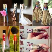 Diy Clothspin Projects 35 214x214 - 45+ Crazy DIY Clothespin Projects for Reuse