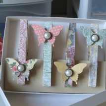 Diy Clothspin Projects 49 214x214 - 45+ Crazy DIY Clothespin Projects for Reuse