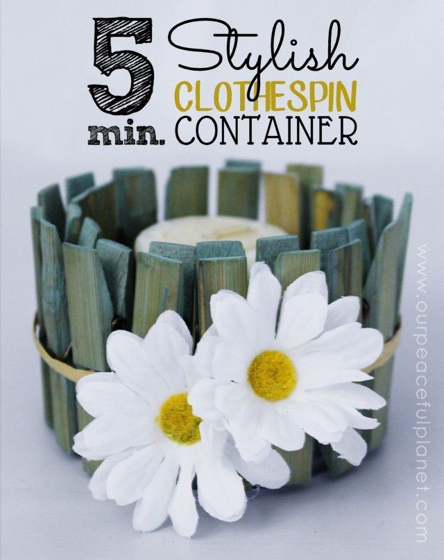 Diy Clothspin Projects 7 - 45+ Crazy DIY Clothespin Projects For Reuse