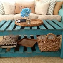 Diy Coffee Tables 13 214x214 - The Coolest DIY Coffee Tables Ideas
