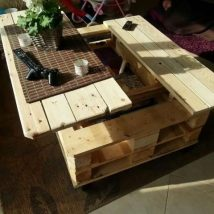 Diy Coffee Tables 14 214x214 - The Coolest DIY Coffee Tables Ideas