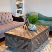 Diy Coffee Tables 17 214x214 - The Coolest DIY Coffee Tables Ideas