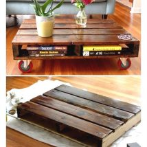 Diy Coffee Tables 23 214x214 - The Coolest DIY Coffee Tables Ideas