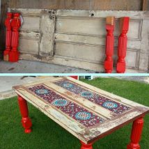 Diy Coffee Tables 40 214x214 - The Coolest DIY Coffee Tables Ideas