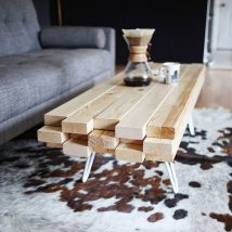 Diy Coffee Tables 43 214x214 - The Coolest DIY Coffee Tables Ideas