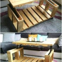 Diy Coffee Tables 7 214x214 - The Coolest DIY Coffee Tables Ideas