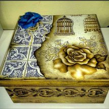 Diy Decorative Boxes 44 214x214 - Amazing DIY Decorative Boxes Ideas you will love for sure