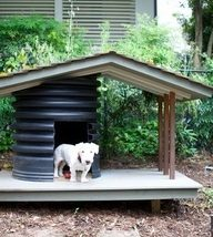 Diy Dog Houses 11 192x214 - 40+ DIY Dog House Ideas Your Dog Will Absolutely Love
