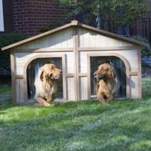 Diy Dog Houses 12 214x214 - 40+ DIY Dog House Ideas Your Dog Will Absolutely Love