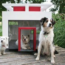 Diy Dog Houses 14 214x214 - 40+ DIY Dog House Ideas Your Dog Will Absolutely Love