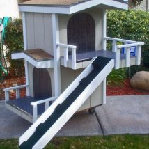 Diy Dog Houses 16 214x214 - 40+ DIY Dog House Ideas Your Dog Will Absolutely Love