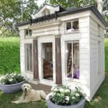 Diy Dog Houses 2 214x214 - 40+ DIY Dog House Ideas Your Dog Will Absolutely Love