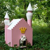 Diy Dog Houses 26 214x214 - 40+ DIY Dog House Ideas Your Dog Will Absolutely Love