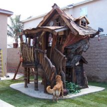 Diy Dog Houses 28 214x214 - 40+ DIY Dog House Ideas Your Dog Will Absolutely Love