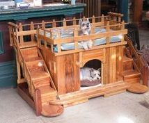 Diy Dog Houses 40 214x177 - 40+ DIY Dog House Ideas Your Dog Will Absolutely Love
