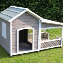Diy Dog Houses 43 214x214 - 40+ DIY Dog House Ideas Your Dog Will Absolutely Love